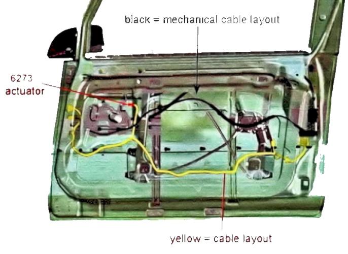 Peugeot 1007 Sliding Door Actuator