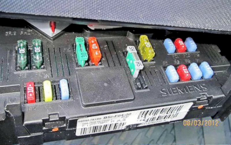 peugeot 1007 fuses fusebox rh jimbutterworth co uk old fuse box fuses replacing fuse box fuses