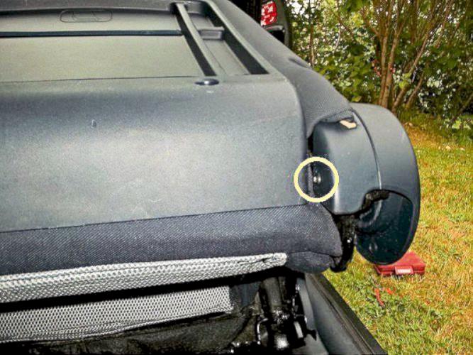 Peugeot 1007 Front Seat Airbag Warning