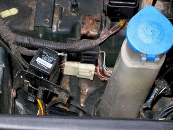 Jaguar Vanden Plas Battery Location